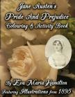 Jane Austen's Pride And Prejudice Colouring & Activity Book: Featuring Illustrations from 1895 (Jane Austen's Colouring and Activity Books #1) Cover Image