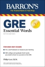 GRE Essential Words (Barron's Test Prep) Cover Image