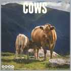 Cows 2021 Wall Calendar: Official Domestic Animals Cow 2021 Calendar 18 Month Cover Image