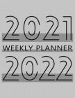 2021-2022 Monthly Planner: 24 Month Agenda, Monthly Organizer Book for Schedule and Activities, 2 Year Calendar Notebook, White Paper, 8.5″ Cover Image