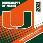 Miami Hurricanes 2021 12x12 Team Wall Calendar Cover Image