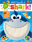 Never Touch a Shark! Sticker Activity Book Cover Image
