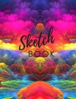 Sketch Book: Large Sketchbook, Notebook For Drawing, Writing, Doodling & Sketching, Blank Paper Journal, Sketching Book,110 Pages, Cover Image