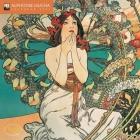 Alphonse Mucha Mini Wall calendar 2021 (Art Calendar) Cover Image
