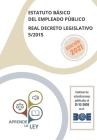 Estatuto Básico del Empleado Público Real Decreto Legislativo 5/2015 Cover Image