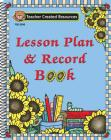 Sunflowers Lesson Plan & Record Book Cover Image