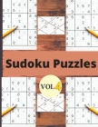 Sudoku Vol 4: Sudoku puzzle book for adults and kids/Sudoku Puzzles Easy to Hard vol 4 Cover Image