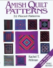 Amish Quilt Patterns: 32 Pieced Patterns Cover Image