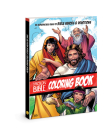 The Action Bible Coloring Book: 55 Reproducible Pages of Bible Heroes and Devotions (Action Bible Series) Cover Image