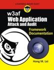 w3af: Web Application attack and Audit Framework Documentation Cover Image