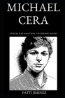 Michael Cera Stress Relaxation Coloring Book Cover Image