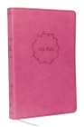Kjv, Value Thinline Bible, Large Print, Leathersoft, Pink, Red Letter Edition, Comfort Print Cover Image