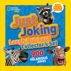 National Geographic Kids Just Joking Laugh-Out-Loud Collector's Set: 900 Hilarious Jokes Cover Image