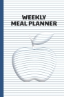 Weekly Meal Planner: Menu Prep Planning with Grocery List - 3D Illusion Apple Cover Theme Cover Image