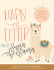 Learn to Letter with Luna the Llama: An Interactive Children's Workbook on the Art of Hand Lettering Cover Image