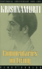 Commentaries on Living: First Series Cover Image