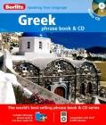 Berlitz Greek Phrase Book & CD [With Phrase Book] Cover Image