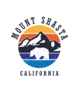 Mount Shasta California: Notebook For Camping Hiking Fishing and Skiing Fans. 7.5 x 9.25 Inch Soft Cover Notepad With 120 Pages Of College Rule Cover Image