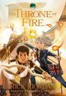 The Kane Chronicles, Book Two the Throne of Fire: The Graphic Novel Cover Image