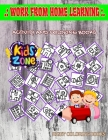 Work From Home Learning: Activity For Young 35 Image Quiz Words Activity And Coloring Book Checklist, Working At Home, Online Chat, Recording, Cover Image