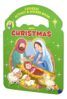 Catholic Activity & Sticker Book about Christmas Cover Image