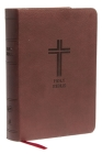 KJV, Reference Bible, Compact, Large Print, Imitation Leather, Burgundy, Red Letter Edition Cover Image