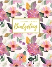 2020 Budgeting Planner: Pink Floral Monthly Planner: 2020 Monthly Financial Budget Planner: Bill Organizer Notebook: Weekly & Monthly Calendar Cover Image