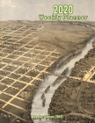 2020 Weekly Planner: Topeka, Kansas (1869): Vintage Panoramic Map Cover Cover Image