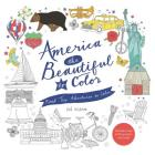 America the Beautiful to Color: Road Trip Adventures to Color Cover Image