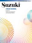 Suzuki Violin School, Vol 6: Piano Acc. Cover Image