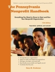 The Pennsylvania Nonprofit Handbook: Everything You Need To Know To Start and Run Your Nonprofit Organization Cover Image