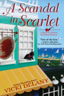 A Scandal in Scarlet (A Sherlock Holmes Bookshop Mystery #4) Cover Image