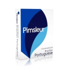 Pimsleur Portuguese (Brazilian) Conversational Course - Level 1 Lessons 1-16 CD: Learn to Speak and Understand Brazilian Portuguese with Pimsleur Lang Cover Image
