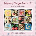Mary Engelbreit 2020 Collectible Print with Wall Calendar Cover Image