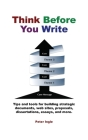 Think Before You Write Cover Image