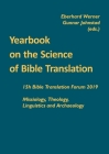 Yearbook on the Science of Bible Translation: 15th Bible Translation Forum 2019 Cover Image