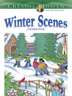 Creative Haven Winter Scenes Coloring Book (Creative Haven Coloring Books) Cover Image