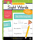 Sight Words (Trace with Me) Cover Image