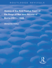 History of the First Twelve Years of the Reign of Mai Idris Alooma of Bornu (1571-1583): By His Imam (Routledge Revivals) Cover Image