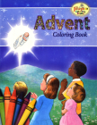 Coloring Book about Advent Cover Image