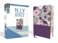 NIV, Thinline Bible, Imitation Leather, Purple, Red Letter Edition Cover Image