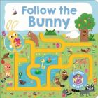 Maze Book: Follow the Bunny (Finger Mazes) Cover Image