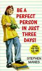 Be a Perfect Person in Just Three Days! Cover Image