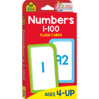 Numbers 1-100: Flashcards Cover Image