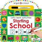 Wipe Clean: Starting School Cover Image