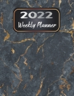 2022 Weekly Planner: 12 Month Calendar, 1 Year Weekly Organizer Book for Activities and Appointments with To-Do List, Agenda, ... 8.5 x 11, Cover Image