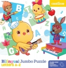 Bilingual Jumbo Puzzle: Letters A-Z Cover Image
