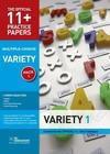 11+ Practice Papers, Variety Pack 1, Multiple Choice Cover Image