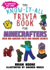 Know-It-All Trivia Book for Minecrafters: Over 800 Amazing Facts and Insider Secrets Cover Image