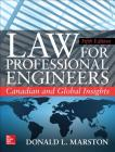 Law for Professional Engineers: Canadian and Global Insights, Fifth Edition Cover Image